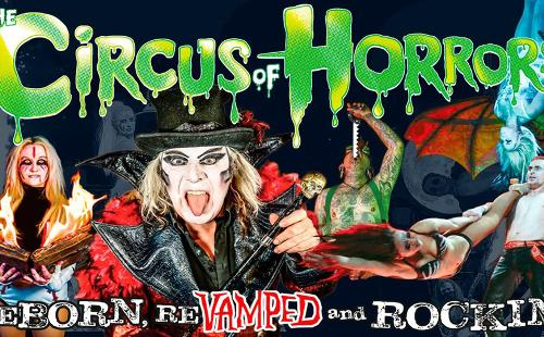Poster for Circus of Horrors