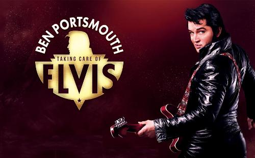 Poster for The King Is Back - Ben Portsmouth is Elvis