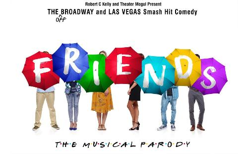 Poster for Friends: The Musical Parody