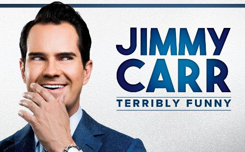 Poster for Jimmy Carr: Terribly Funny